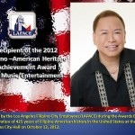 Bernardo Bernardo is the Recipient of the 2012 -American Heritage Achievement Award for Music/Entertainment. Get Inspired Filipino Excellence & Appreciation Night (Part 1) & On Spotlight Bernardo Bernardo - Simply the Best - The Luisa Marshall Show.
