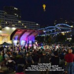 Luisa Marshall's Tina Turner Tribute at North Vancouver's Saturday Summer Sessions Art & Music Festival 2014 @ the Shipyards at Shipbuilders Square. August 23.