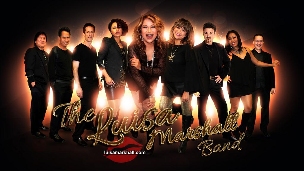 Luisa Marshall Band Promo Pic 2014