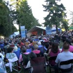 Thousands of people gathered watching Luisa Marshall's Tina Turner Tribute Act at the Harmony Arts Festival 2012.