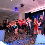 Luisa Marshall's Tina Turner Tribute with the wives of the Quesnel Volunteer Firefighters.