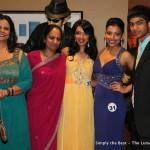 Neha Karamchandani with family and Antara Das
