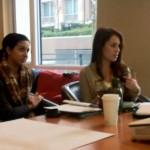 Laura Guzman during a volunteer meeting.