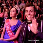 Tara Tang & Frankie Cena enjoy the show.