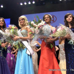 Miss World Canada 2013 Camille Munro with the rest of the top 5.