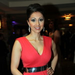 Miss World Canada 2013 Judge Veronica Chail.