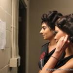 Delegates Maida Khayyal & Gina Ruperti review the show order.