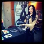 Kara Granger at a Human Trafficking Convention