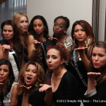 Mwah! from Luisa Marshall & Miss World Canada Delegates