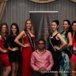 Chef Siddharth Choudhary & Miss World Canada 2013 Delegates