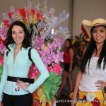 Alexis Scigliano & Vivianna Sanchez during dress rehearsals.