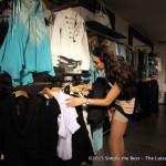 Miss World Canada delegate Kara Granger shopping at Guess.
