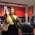 Miss World Canada delegate Tanya Virk proud to be shopping at Guess.