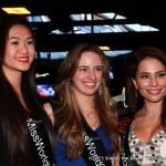 Renee Chan, Becky Friesen & Laura Guzman at Secret Resto Lounge.