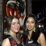 Hannah Seaman & Neha Karamchandani at the Secret Resto Lounge.