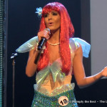 Tamara Jemuovic as the Little Mermaid during the talent competition.