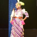 Chayla Delorme Maracle's International Costume.