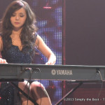 Anastasia Lin during the talent competition.