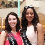 Miss World Canada 2013 delegates Alexis Scigliano & Camille Munro.