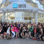 Miss World Canada 2013 delegates ready for the mall.