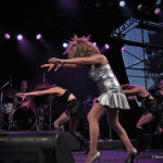 Tina Turner Tribute Artist, Luisa Marshall at the Chevrolet Performance Stage at the PNE.