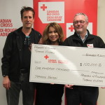 Steve & Luisa Marshall at the Canadian Red Cross for Celebrity Tributes for Philippine Typhoon Haiyan Victims. $100,000.