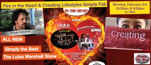 Featured- Fire in the Heart & Creating Lifestyles Simply Fab