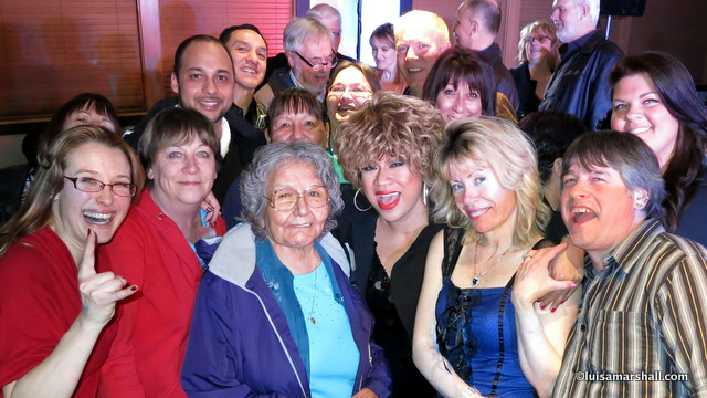 Williams Lake After Show pics March 2014 picsIMG_4995 - Luisa Marshall Tina Turner Tribute Impersonator Lookalike BC Tour 2014