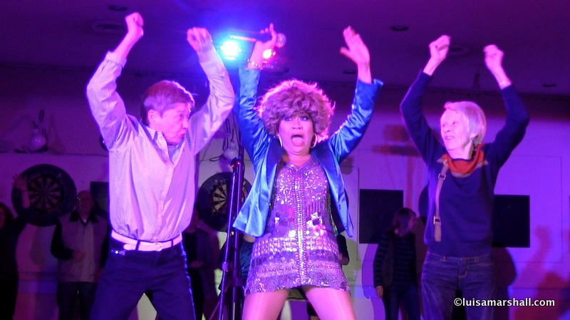 Parksville-Luisa Marshall Tina Turner Tribute Impersonator Lookalike BC Tour 2014