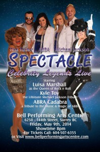 Spectacle-Luisa-Marshall,-ABBA,-MJ-Poster