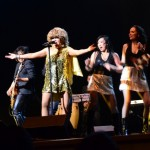 Tina Turner Tribute at the Bell Centre - Luisa Marshall with Band and Dancers Proud Mary - Ching