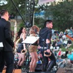Tina Turner Impersonator Luisa Marshall at the Westside Daze 2014 in West Kelowna with Luisa Marshall Band and Dancers.