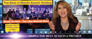 Featured - The Best of Manila Sound, Hotdog Band - Simply the Best Luisa Marshall TV Show
