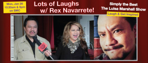 Featured- 6.09 - Lots of Laughs with Rex Navarette! - Simply the Best TV Show