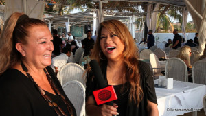 02-DAY 4 GOA, INDIA Mariketty Interview February 2015 MVI_6881 Luisa Marshall's Tina Turner Tribute