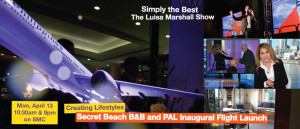 Featured - 6.16 Secret Beach B&B and PAL Inaugural Flight Launch - Simply the Best TV Show