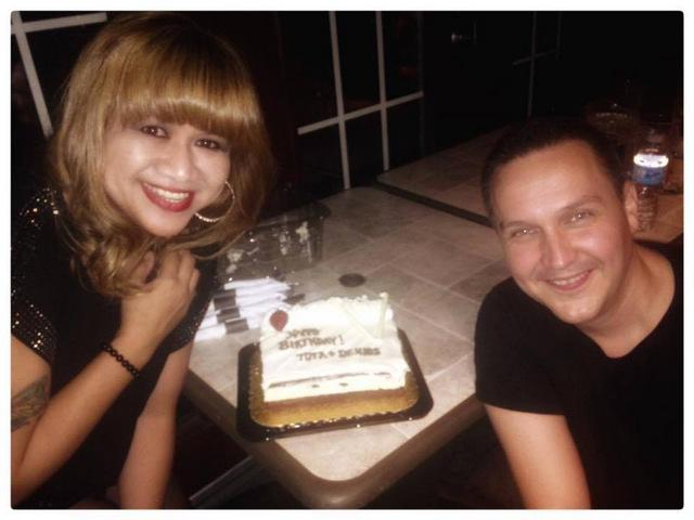 Birthday girl and boy: Tota & Denis!