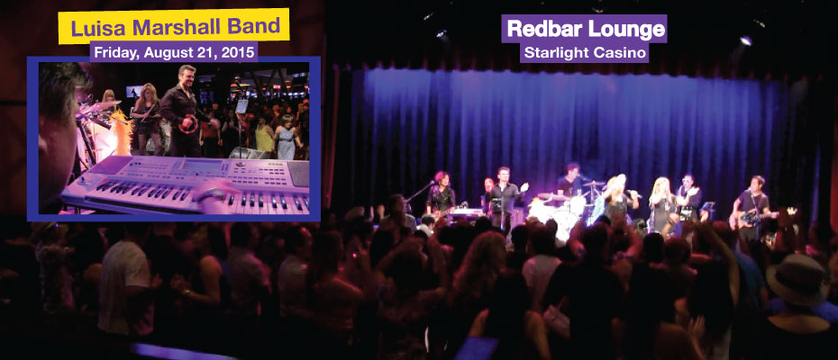 Redbar lounge starlight casino friday august 21 2015 luisa starlight casino dance floor packed to the max when the luisa marshall band hits the stage aloadofball Image collections