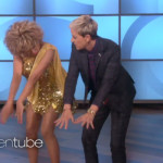 Luisa Marshall as Tina dancing with Ellen.