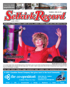 Selkrik Record (Thursday, April 28, 2016) Front Page