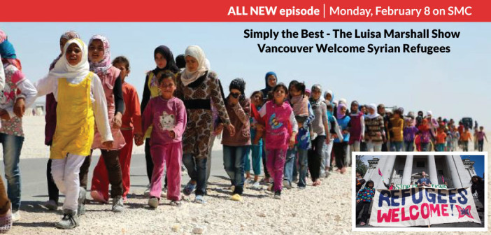 Vancouver Welcome Syrian Refugees
