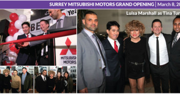 Surrey Mitsubishi Grand Opening – Luisa Marshall as Tina Turner