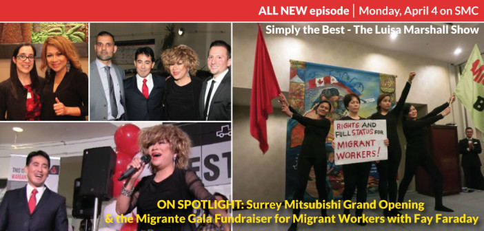 ON SPOTLIGHT: Surrey Mitsubishi Grand Opening & Migrante Gala Fundraiser for Migrant Workers with Fay Faraday