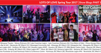 Lots of Love Spring Tour 2017 Blogs: Part 1 (BC)