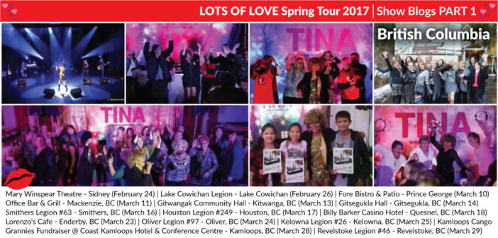 Lots of Love Spring Tour 2017 – (Part 1) BC Blogs