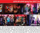 Lots of Love Spring Tour 2017 Blogs: Part 2 (Alberta & Saskatchewan)