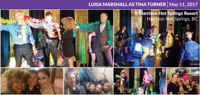 Luisa Marshall as Tina Turner @ Harrison Hot Springs Resort – Harrison Hot Springs, BC (May 11, 2017)