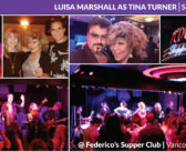 Luisa Marshall as Tina Turner @ Federico's Supper Club w/ Band – Vancouver, BC (September 15, 2017)