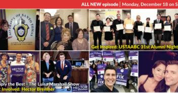 Get Involved: Hector Bremner & Get Inspired: USTAABC 31st Alumni Night