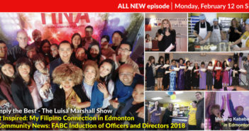 Get Inspired: My Filipino Connection in Edmonton & Community News: FABC Induction of Officers and Directors 2018
